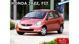 Багажная система LUX с дугами 1,2м аэро-классик (53мм) для а/м Honda Jazz I Hatchback 2002-2008 г.в.